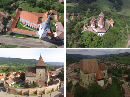 UNESCO fortified churches in Transylvania
