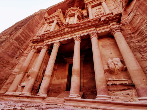 Jordan itinerary of stone and sand: Petra, Wadi Rum and Jerash